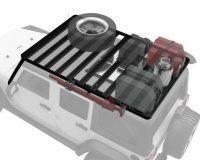 Slimline II Extreme Roof Rack Kit JK 4 Door 07-17 | Frontrunner KRJW020T