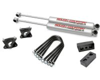 Rough Country 395S 2.5'' Dodge Suspension Lift Kit (06-08 RAM 1500 4WD)
