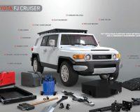 6IN Toyota Suspension Lift Kit (07-09 FJ Cruiser 4WD