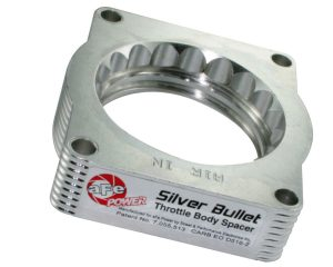 aFe POWER 46-33002 Silver Bullet Throttle Body Spacer; Ford F150 04-10 V8-5.4L