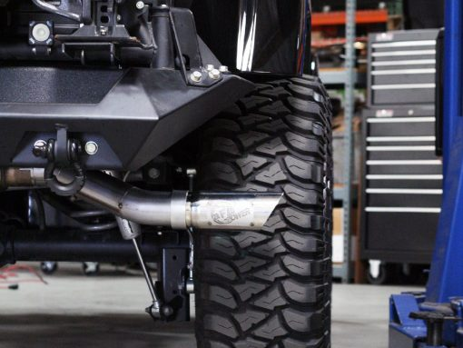 "aFe POWER 49-46211 MACH Force-Xp 3"" 409 Stainless Steel Cat-Back Exhaust System; JK 12-17 V6-3.6L 4DR"