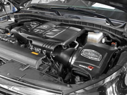 aFe POWER 51-76103 Momentum GT Pro DRY S Cold Air Intake System; Nissan Patrol Y62 10-16 V8-5.6L (400 hp)
