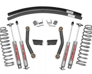 Rough Country 670XN2 3IN Suspension Lift Kit; XJ 84-01