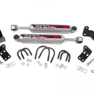 Performance 2.2 Dual Steering Stabilizer; JK 07-17   Rough Country 87349