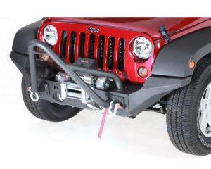 Rugged Ridge 11540.24 XHD High Clearance Bumper Ends; 07-17 Jeep Wrangler JK