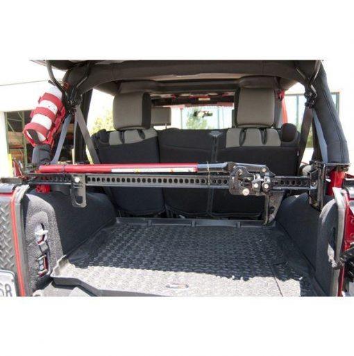 Rugged Ridge 11586.02 Offroad Jack Roll Bar Mounting Bracket; 92-17 Jeep Wrangler YJ/TJ/JK