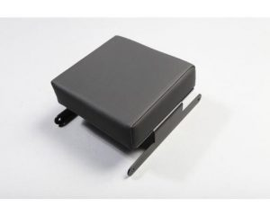 Rugged Ridge 13107.35 Console Lid Cover, Black Vinyl; 07-10 Jeep Wrangler JK