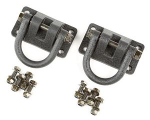 Rugged Ridge 11540.20 D-Rings, Textured Black, XHD