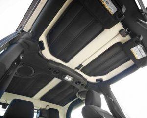 Hardtop Insulation Kit, 2-Door; 11-18 JK | Rugged Ridge 12109.03
