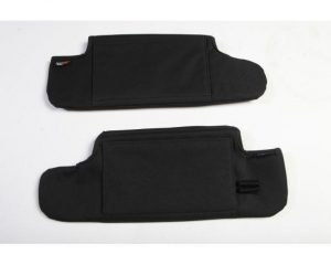 Rugged Ridge 13305.08 Sun Visor Organizers, Black; 10-18 Jeep Wrangler JK