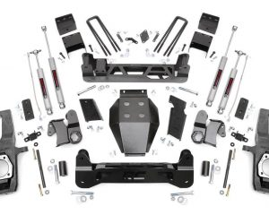 7.5'' GM NTD Suspension Kit (11-18 2500HD/3500HD) | Rough Country 253X