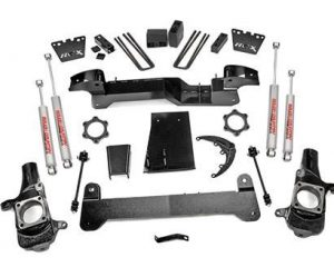 Rough Country 259S 6'' GM Suspension Lift Kit (01-06 1500HD 4WD)