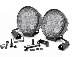 4'' Led Round Lights | Rough Country 70804