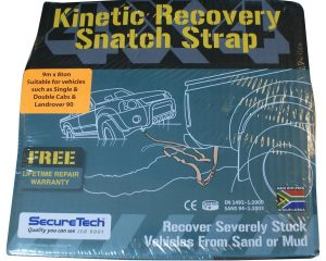 Kinetic Recovery Snatch Strap | SecureTech  840106