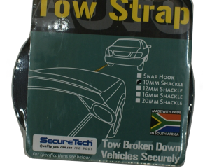 Tow Strap 10mm Shackle | SecureTech 840113