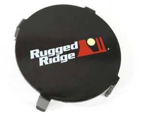 3.5 Inch LED Light Cover, Black | Rugged Ridge 15210.64